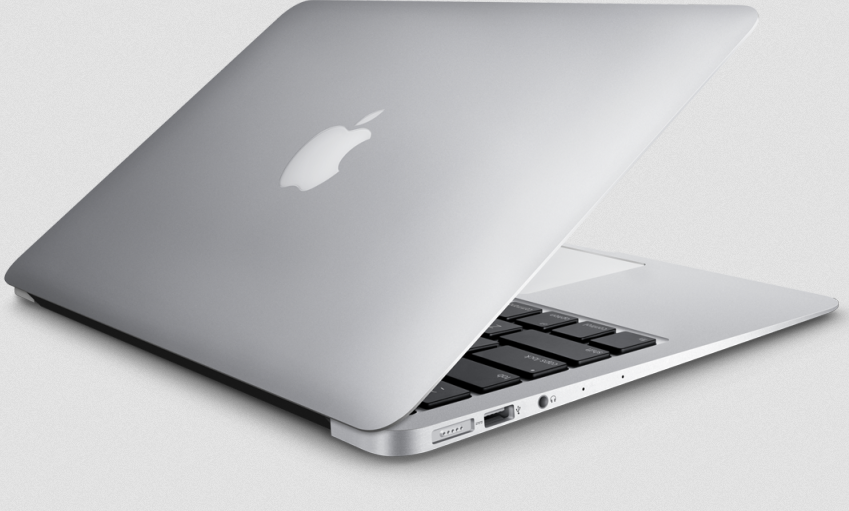 mac book pro left side