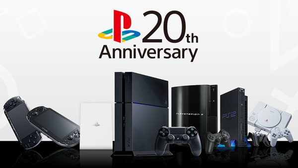 Sony Launches Massive PlayStation 20th Anniversary Sale