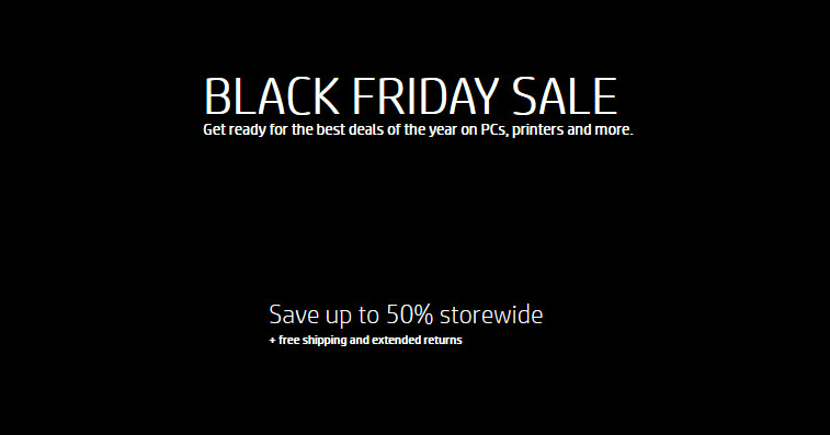 HP Coupons Black Friday Sale