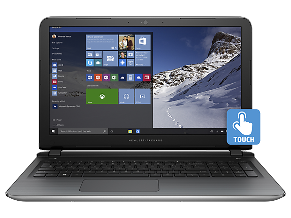 HP Pavilion Notebook – 15-ab220nr (Touch)