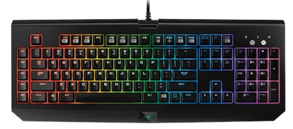 Razer BlackWidow Chroma Mechanical Gaming Keyboard