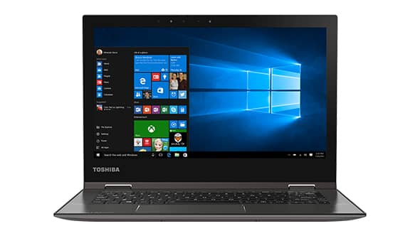 how to find webcam on toshiba laptop