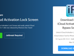 Remove iCloud Activation Lock Screen on iPhones & iPad running up to the last iOS 13.5.1